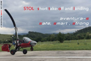 aventura-s has incredible STOL performance (Short take-Off and Landing)